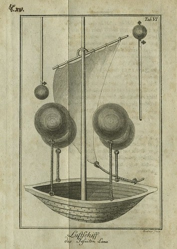 Jesuit Francesco Lana Terzi's flying machine