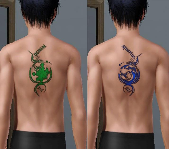 fd4692d4e1c5c TATTOO GIMANA: aquarius zodiac tattoos
