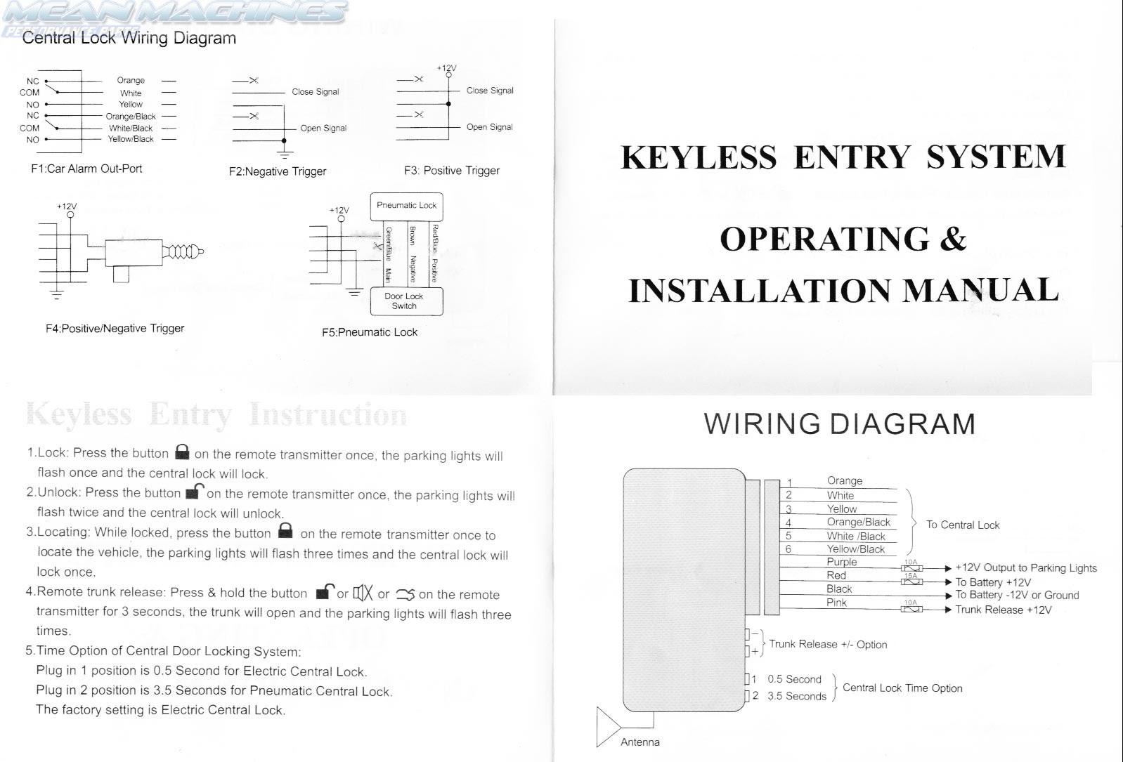 Mitsubishi L200 Central Locking Wiring Diagram - Wiring ...