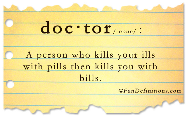 Fun Definitions Doctor Dump A Day