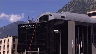Edifici de l'entitat Andbank a Andorra