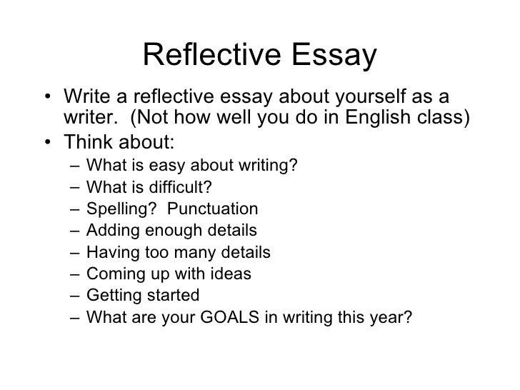 A complete guide to writing a reflective essay | Oxbridge Essays