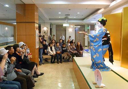 京都展,2012京都展,物産展,京都展,松菱,舞妓さん,京舞