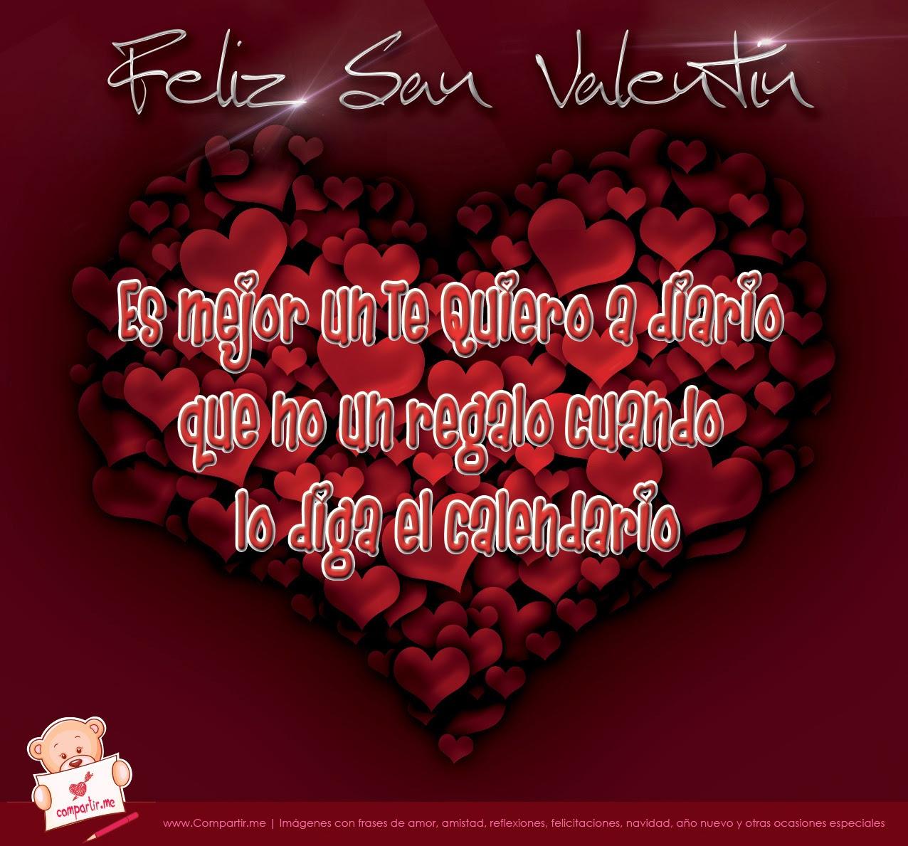 Algunas Frases De Amor Y Amistad De San Valentin