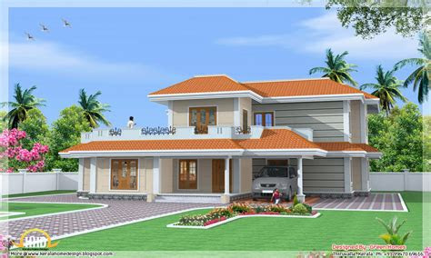 kerala model house design normal house  kerala small