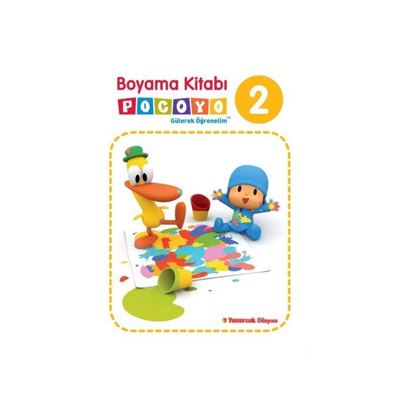 Pocoyo Boyama Kitabı 2