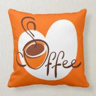 Love Coffee throwpillow