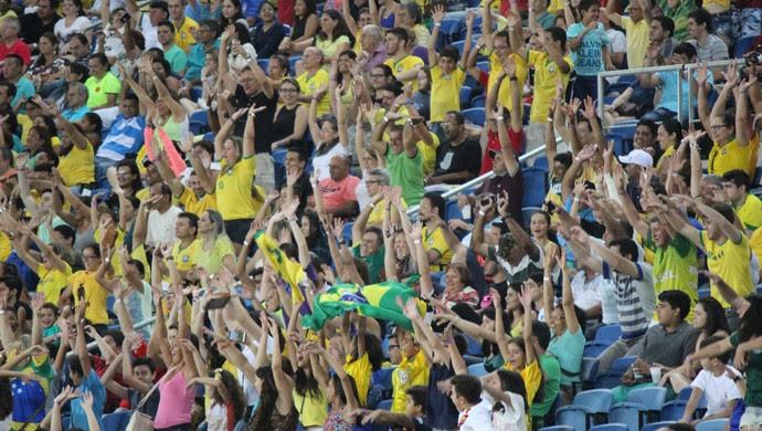 Torcida Brasil x Canadá (Foto: Diego Simonetti/Blog do Major)