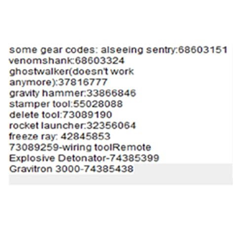 Roblox Admin Command Gear Codes Roblox Codes 2019 September