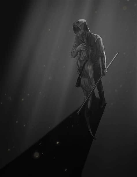 dark  beautiful anime image angel  death death