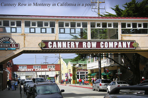 Cannery Row in Monterey by Old Jingleballicks