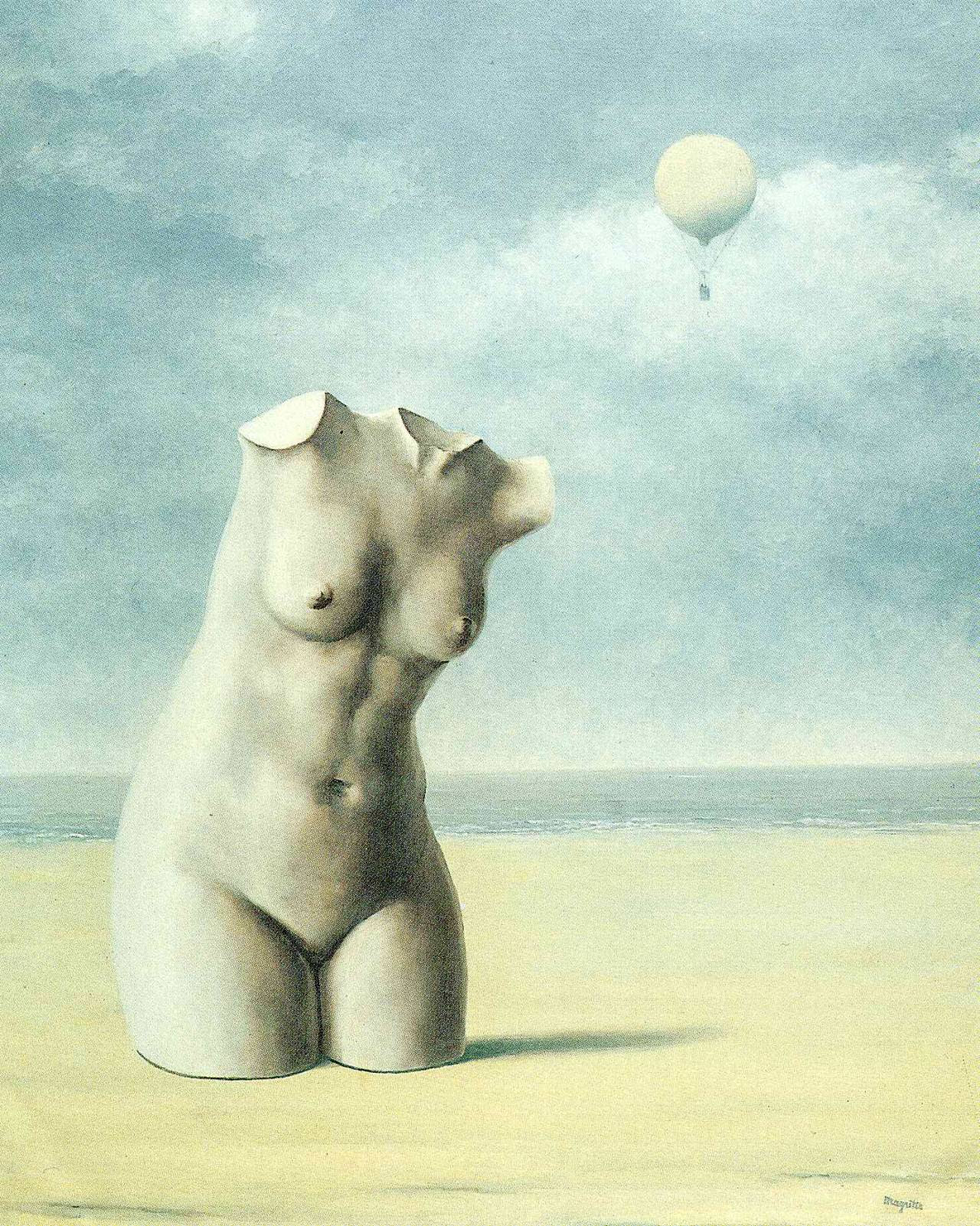 When the hour strikes, 1965 Rene Magritte