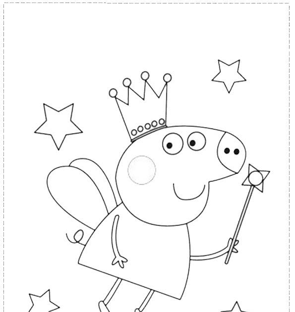 kostenlose ausmalbilder peppa wutz  kinder zeichnen und