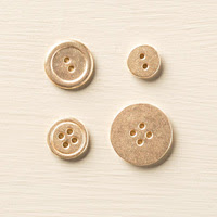 Gold Basic Metal Buttons by Stampin' Up!
