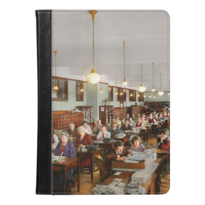 Accountant - Workaholic 1923 iPad Air Case
