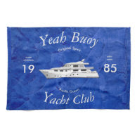 Yacht Club Yeah Buoy Towel