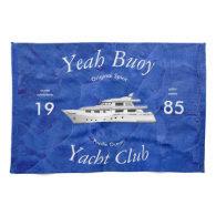 Yacht Club Yeah Buoy Towel