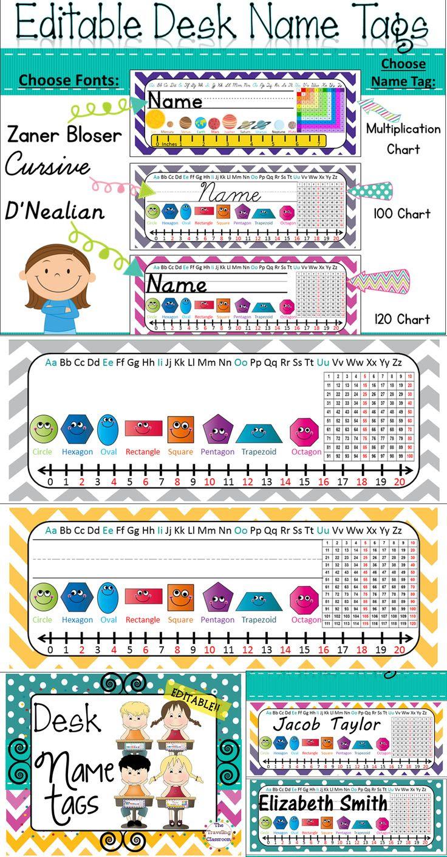 1000+ ideas about Desk Name Plates on Pinterest | Best teacher ...