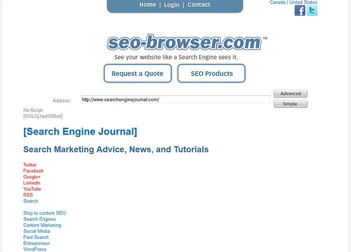 SEO-Browser