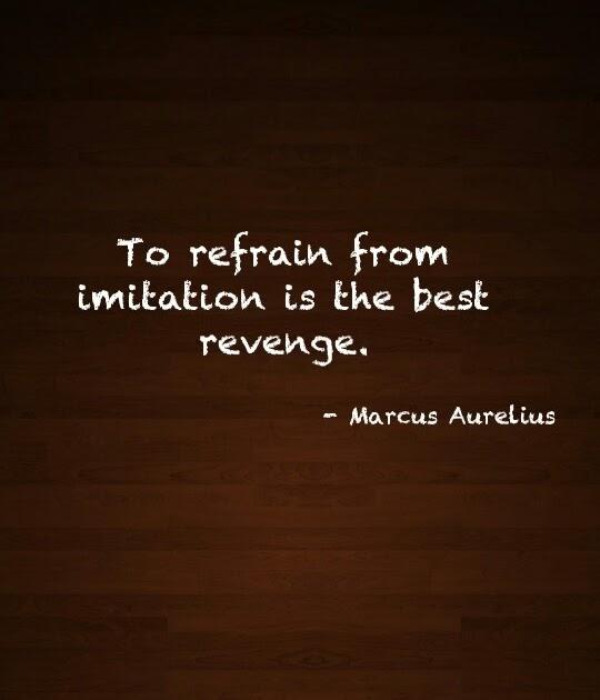 Marcus Aurelius Quotes: To Refrain From Imitation