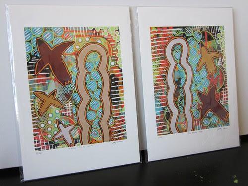 3 parts 2 parts Print Set