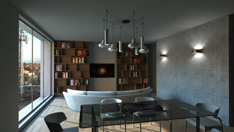 Wohnzimmergestaltung: Schemas und Projektbeispiele - BibLus