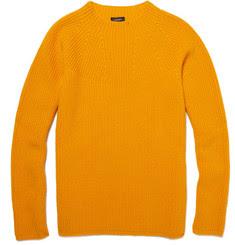 Jil Sander Ribbed Wool Sweater