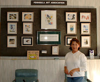 Hospital display - Nancy Van Blaricom