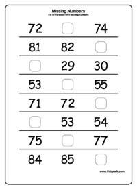 Ukg Numbers Worksheets   Ruang Belajar siswa kelas 1