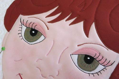 Silmara's pretty eyes