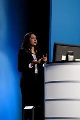 Nandini Ramani, JavaOne Keynote, JavaOne + Develop 2010, Moscone North