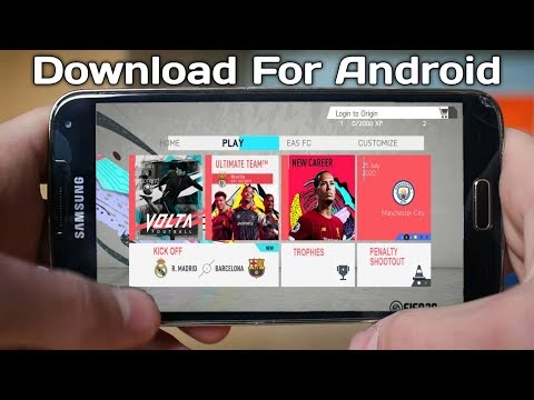 Download FIFA 20  for Android (Apk+Obb+Data) Latest Update August 1st Mod