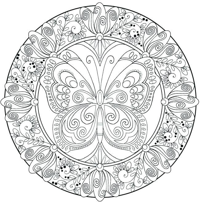 Mandala Coloring Pages Pdf at GetColorings.com | Free ...