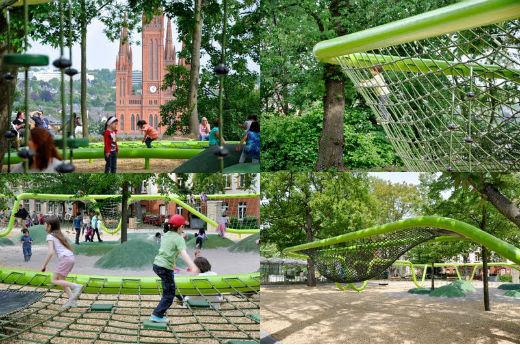 schulberg wiesbaden playground annabau 8 maravillosos parques infantiles del futuro