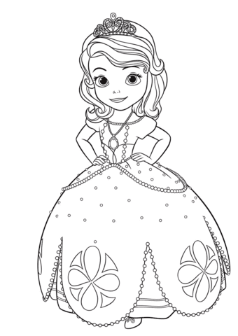 92 Sofia Cartoon Coloring Pages , Free HD Download
