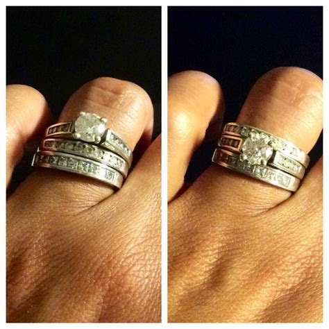 How do you wear your stacked rings?