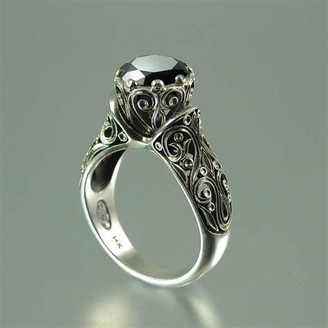 Probably Perfect Best Antique Black Diamond Engagement