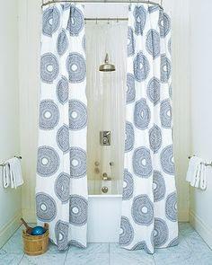 Shower Curtain Drapes | Guest Bath on Pinterest