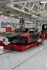 Des Model S fraîchement peintes