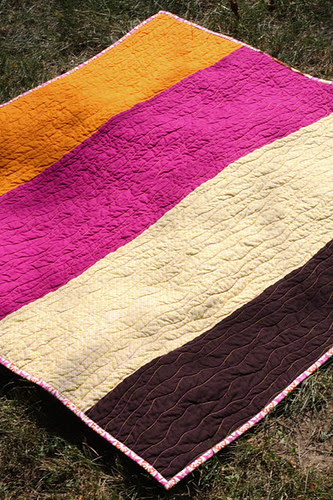 Single Girl Quilt by jenib320