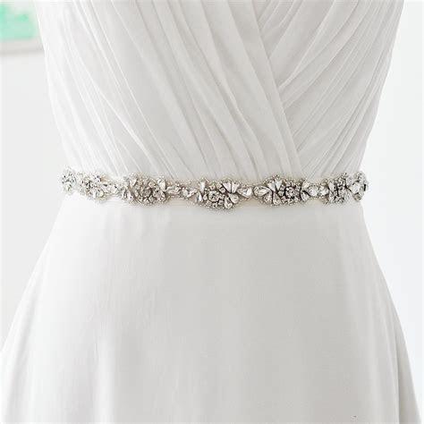 2018 S235 New Arrival Fashionabl Bridal Sash Rhinestone