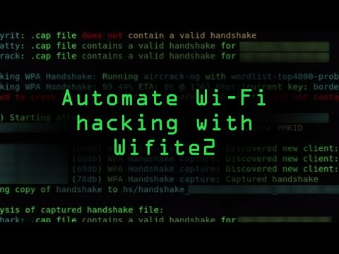 Automate Wi-Fi Hacking with Wifite2 in Kali Linux [Tutorial] | FreeDown