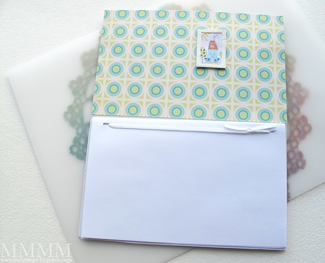 Tiffany Doodles Couch notebook 2 - inside Squigglefly Seasonal House on a Hill & CosmoCricket paper