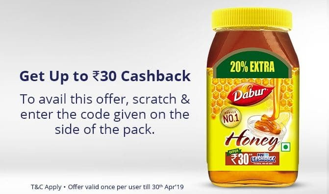 Get Paytm Loot 100% Free Rs.15 or Rs.30 Paytm Cash on Purchase Items