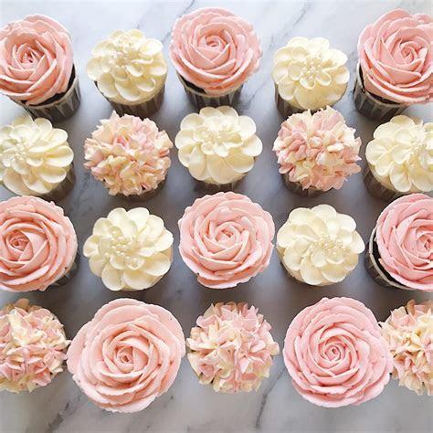 Mini Floral Cupcakes ? Ala Carte Desserts, Mini Cupcakes