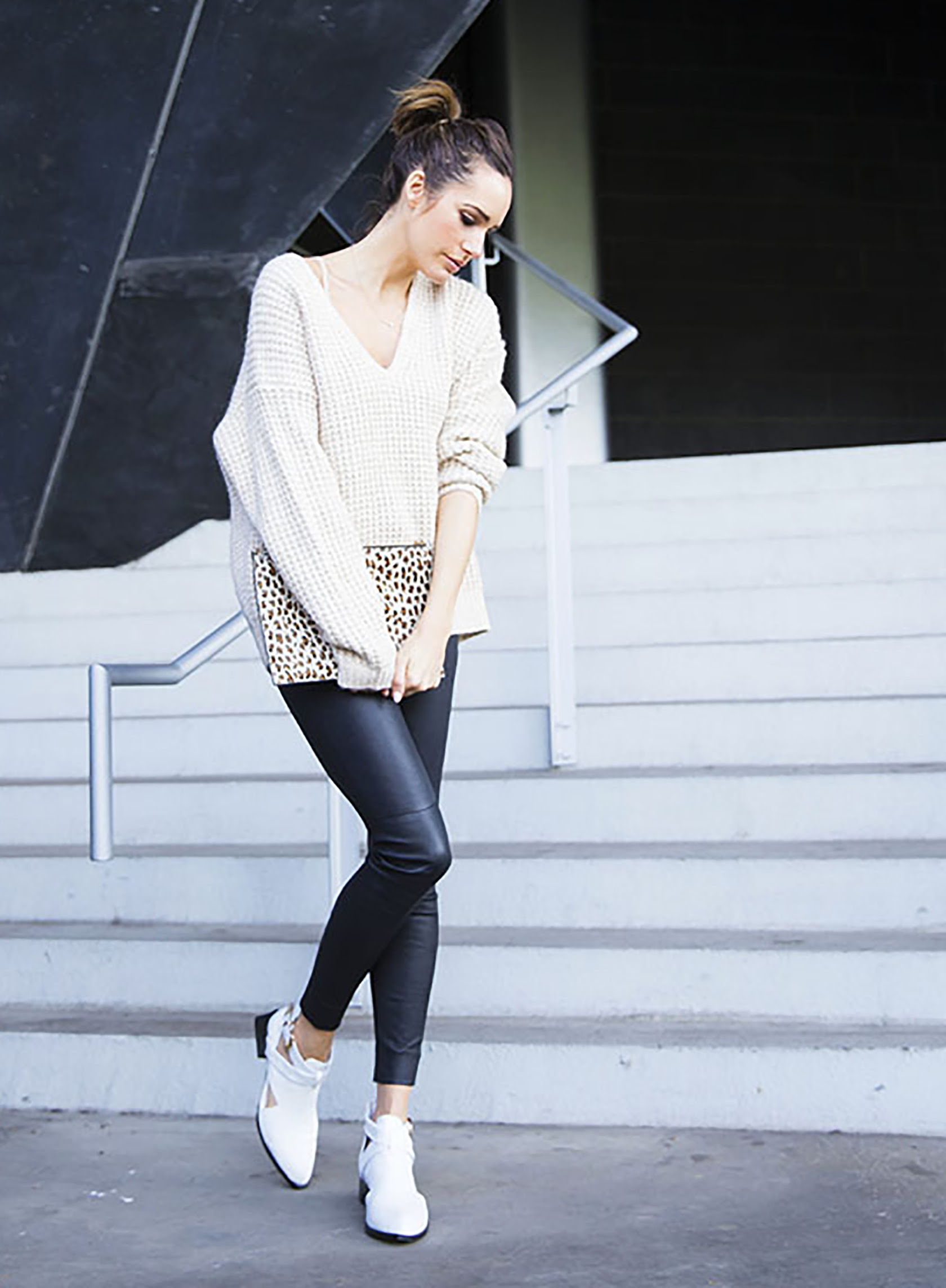white booties 6 ways to wear  outfit inspiration  sydne
