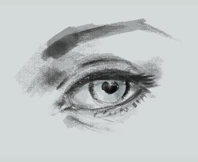 draw basic eye
