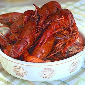 3 lbs Louisiana Crawfish 10-15 Crawfish Per lb
