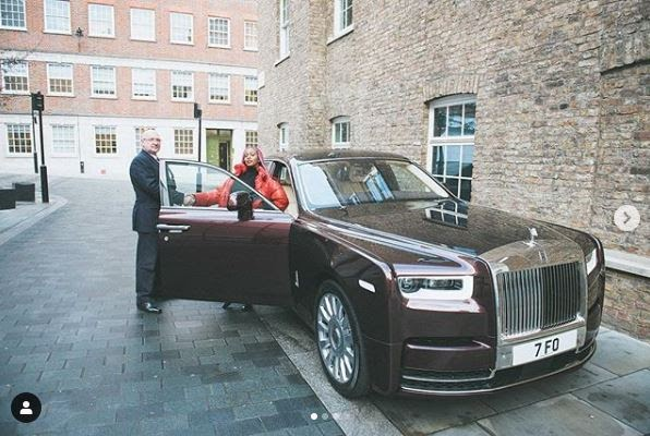 Wow! Billionaire Daughter, DJ Cuppy Acquires Her New Specially-Built Rolls Royce Car (Photos)