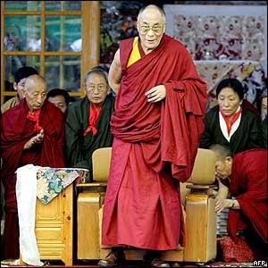 Tibetan spiritual leader His Holiness The Dalai Lama - 6/7/05